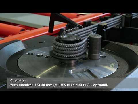 ROBOMASTER 45 - Rebar Bending machine - Schnell Spa