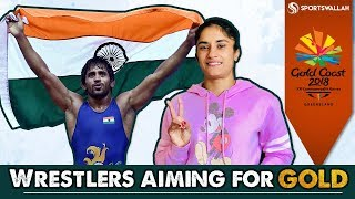 CWG 2018 - Wrestlers Who Can Win Gold