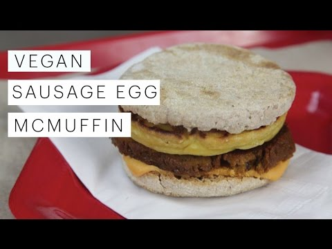 Vegan Recipe: Egg McMuffin Breakfast Sandwich | Edgy Veg