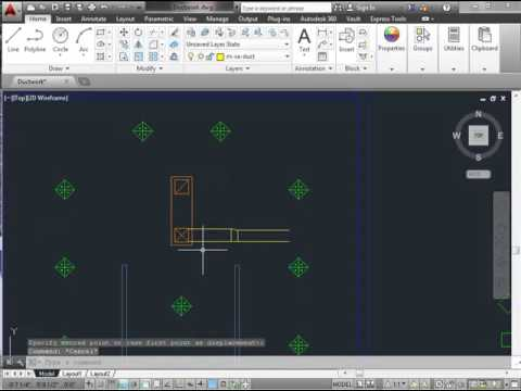 HVAC 3  How to draw ductwork in AutoCAD   Rectangular Transitions and Flex Duct Takeoffs