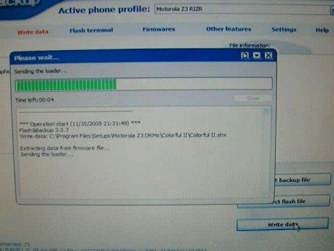 Installing An DRM Set Into a Motorola RIZR Z3 (Using BootLoader)