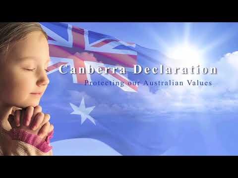 Election Prayer 2019 - Canberra Declaration