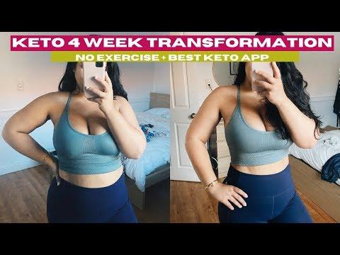 Keto Weight Loss 4 Weeks No Workout