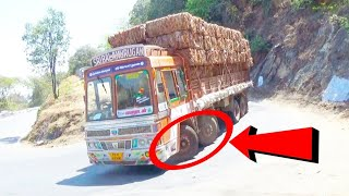 DhimbamHills; Heavy Load Lorry