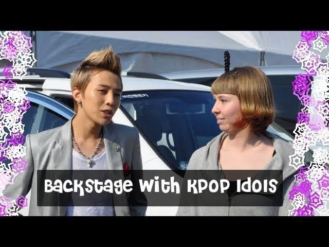 Backstage with Kpop Idols at Inkigayo