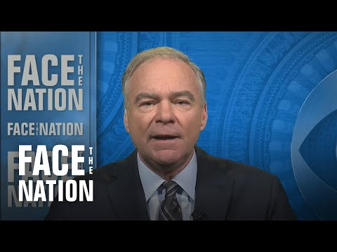 "Tim Kaine says Congress ""stepping up to the plate"" on new AUMF"