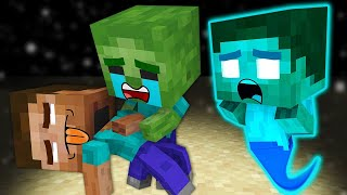 Monster School : GOOD BABY HEROBRINE AND BAD ZOMBIE ALL EPISODE - Minecraft Animation