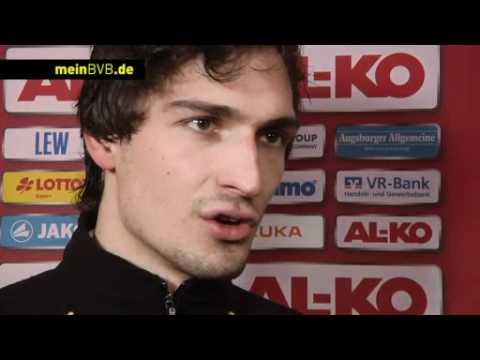Augsburg - BVB: Freies Interview mit Mats Hummels
