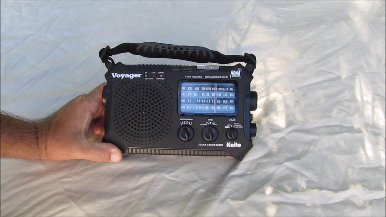 Emergency Radio Review Kaito KA500