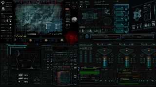 DreamScene Rainmeter - Oblivion Theme dual monitor - Incomplete