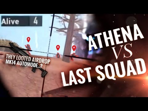 [PUBG MOBILE] FINAL CLUTCH! ATHENA vs AIRDROP SQUAD in Ace Tier Asia!! (ENG SUB)