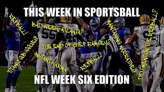 This Week in Sportsball: NFL Week Six Edition (2019)