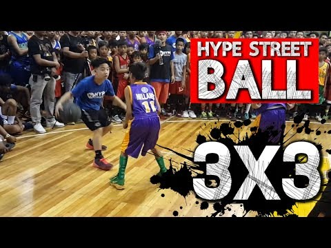Hype Streetball vs Barangay Players