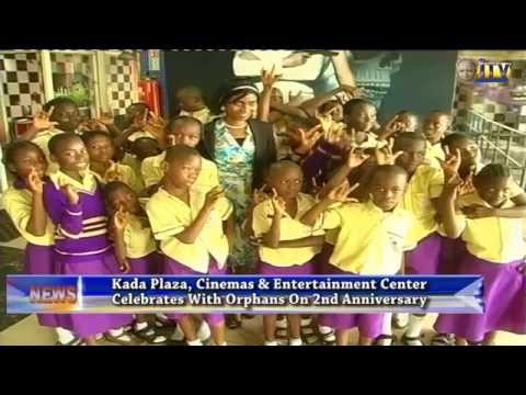 Kada Plaza 2nd anniversary with orphans