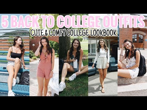 CUTE AND COMFY COLLEGE OUTFITS | BACK TO COLLEGE LOOKBOOK 2019