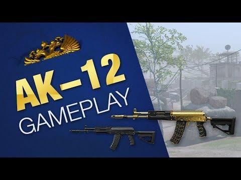 Warface Golden AK-12 Gameplay