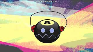 8-Ball Headphone Coiny Socks & Bubble Hair Clip
