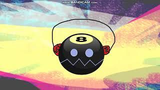 8-Ball Headphone Coiny Socks & Bubble Hair Clip