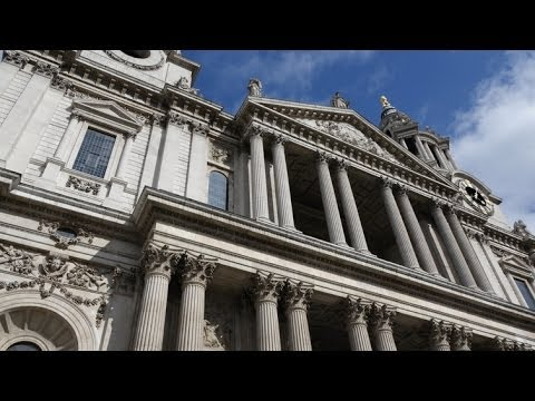 (4K)Travel to London 2014 - St Paul's Cathedral セント・ポール大聖堂