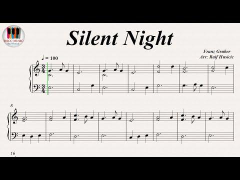 Silent Night (Stille Nacht, Heilige Nacht) - Franz Gruber, Piano