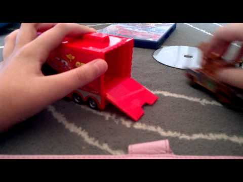 Cars 2 Quick Changers Mack Transporter review