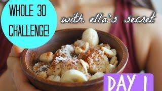 Whole 30! Day 1: Banana Island Salad Recipe!