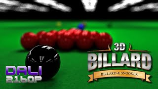 3D Pool: Billiards and Snooker (Snooker) PC Gameplay 60fps 1080p