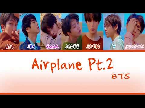 BTS - Airplane Pt.2 Sub Indo Lirik [HAN/ROM/INDO Color Coded Lyrics]