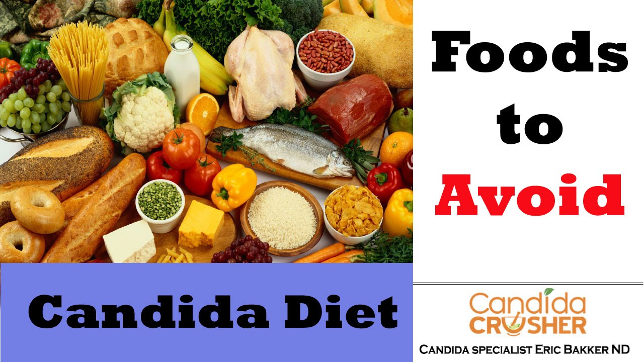 Candida Crusher Diet Food List