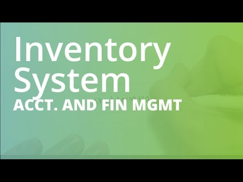 introduction of inventory system Material requirements planning (mrp) is a computer-based production planning and inventory control system mrp is concerned with both production scheduling and inventory control it is a material control system that attempts to keep adequate inventory levels to assure that required.