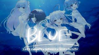 BLUE - エルセとさめのぽき / 青色と混ざる