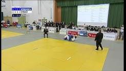Harri Honkanen - Mikko Sykkö SM-judon 100 kg:n finaalissa 2.4.2011