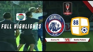 Download Video Arema FC (3) vs (2) Barito Putera - Full Highlights | Piala Presiden 2019 MP3 3GP MP4