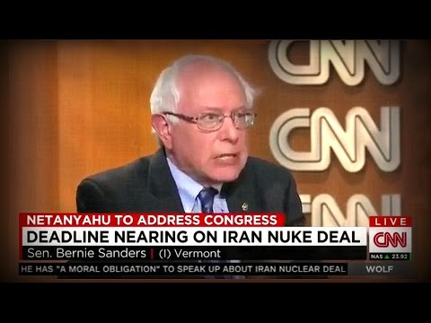 Bernie Sanders Gets Fired Up About Iran Nuclear Deal & Netanyahu. Feel the Bern!