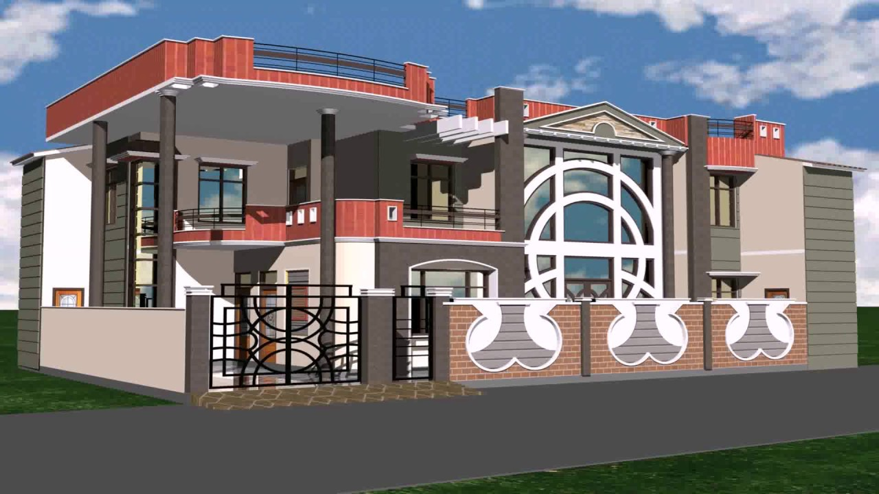 House window grill design india youtube for Front window design in india