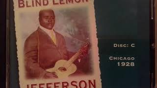Blind lemon Jefferson - Complete Recordings Vol 3