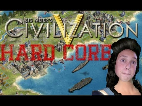 Civ 5 Hardcore Challenge - WASHINGTON NO! I LET YOU USE MY NES!