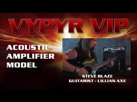 Peavey Vypyr VIP 3 100W Modeling Combo Amplifier Overview | Full Compass