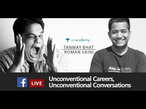 Unconventional Careers with Roman Saini and Tanmay Bhat