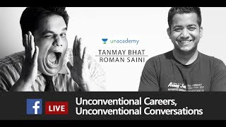 Live Session with Roman Saini and Tanmay Bhat