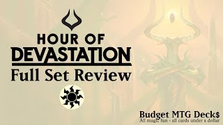 hour of devastation full set review white