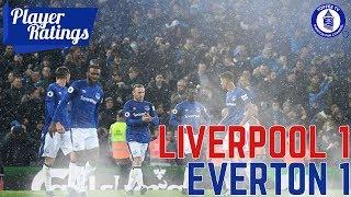 Liverpool 1-1 Everton | EFC Player Ratings