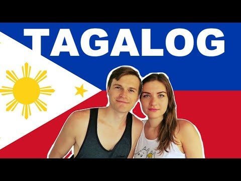 TRYING TO SPEAK TAGALOG! Filipino Language Challenge