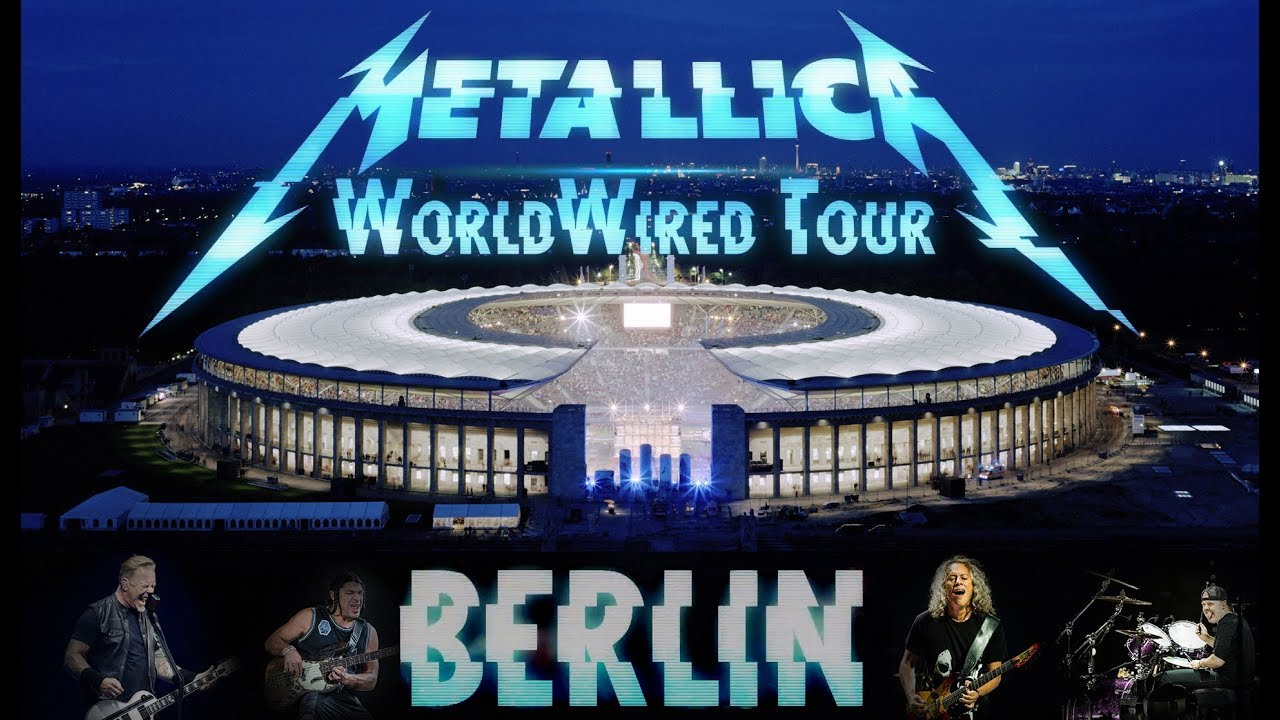 metallica worldwired tour olympic stadium berlin 2019. Black Bedroom Furniture Sets. Home Design Ideas
