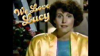 Lucie Arnaz intro 'We Love Lucy' w Tallulah Bankhead, Lucille Ball