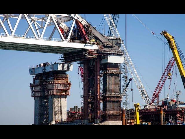 сегодня: важнейшие просадка опор крымского моста кафе