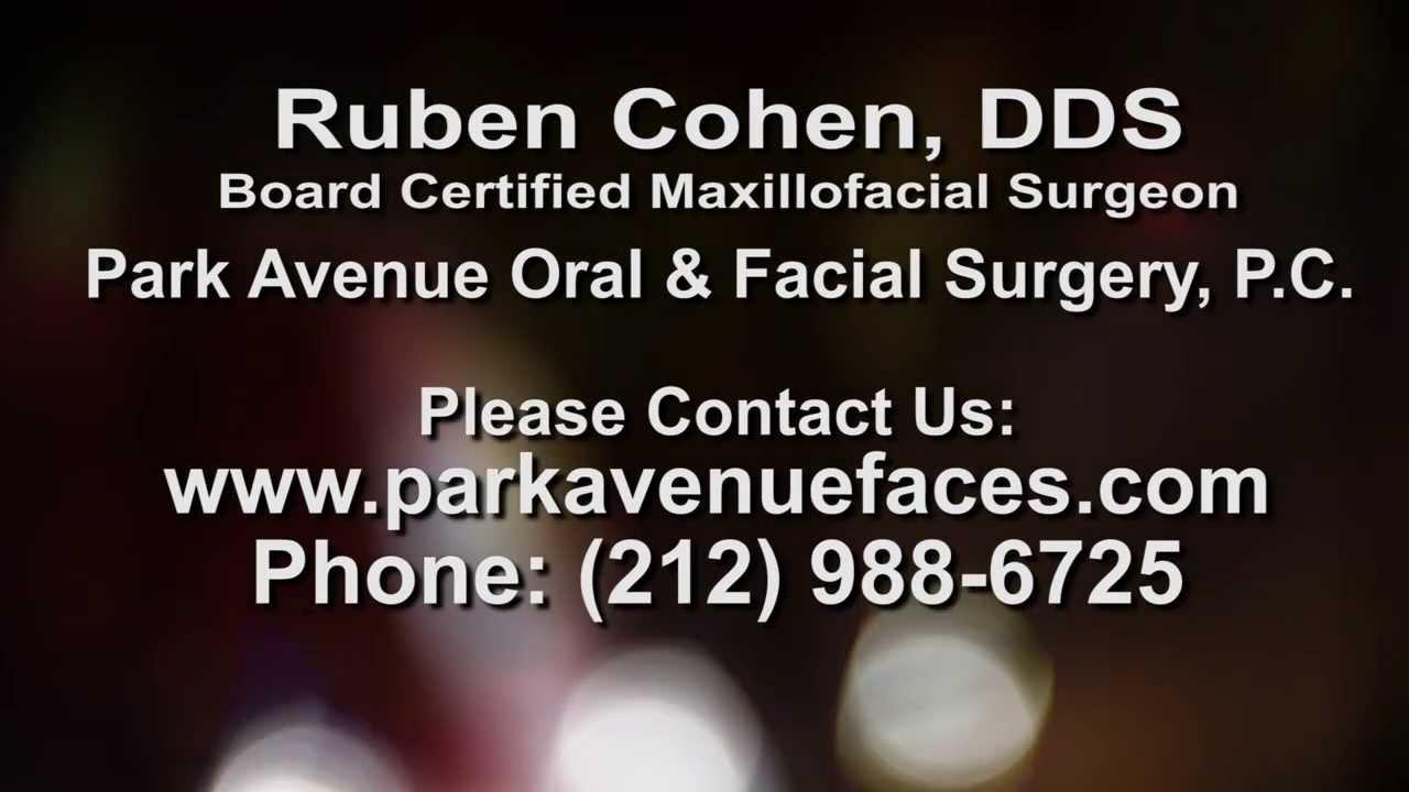 About Dr  Ruben Cohen | Park Avenue Oral & Facial Surgery