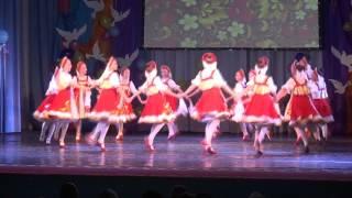 435 Заслуженный коллектив Приморского края образцовый ансамбль танца Звёздочки г  Владивосток   Русс