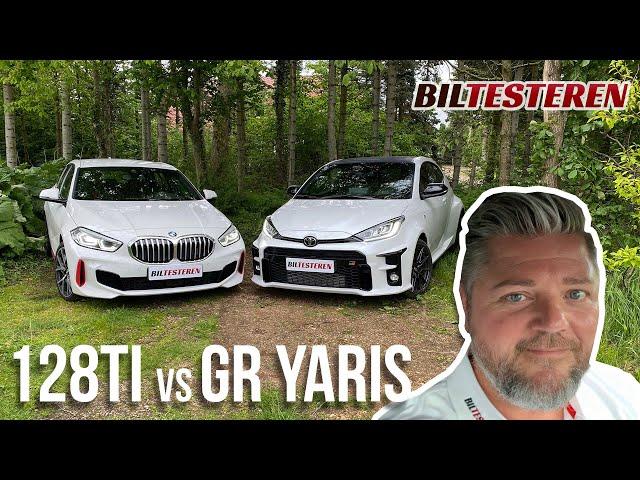 GTI-battle mellem BMW 128ti og Toyota GR Yaris (test)