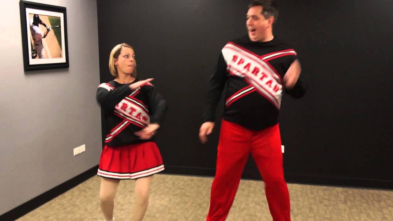 Will ferrell snl spartan cheerleader video — 4